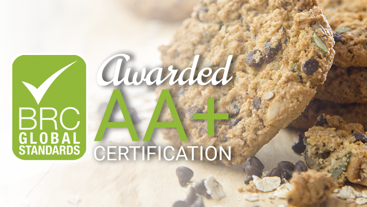 East Coast Bakehouse achieves another BRC AA+ certification